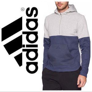 adidas Men's Athletics Fleece 1/2 Zip Hoody